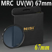 NiSi MRC UV Filter 67mm Lens Filter ultra-thin double-sided multi-coated, waterproof, anti-scratch +Free shipping