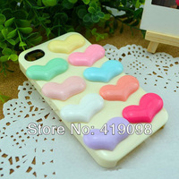 Free shipping! Very hot diy mobile phone decoration/flat back resin/pure peach-shaped hearts, love /20*33mm, 30PCS/lot