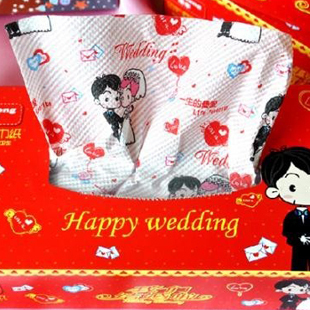 Free Shipping!! Derlook department store wedding washouts print paper wedding tissue pumping(China (Mainland))