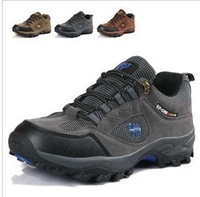 Free shipping .Outdoor paragraphs in the spring and autumn hiking shoes lovers shoes walking shoes net surface