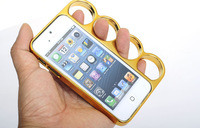 Brand New Phone Brass Knuckle Case for iPhone 5 5g With retail package Mobile phone cover wholesale and retail IPHONE case