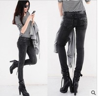 2013 Fashion spring autumn women's jeans pants pencil denim skinny leggings trousers Vintage all match free shipping