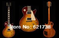 best china 2010 New Custom Shop Historic 1955 Pale Whiskey Burst Mahogany Electric Guitar