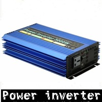 Factory price, 3000W Modified Sine Wave Car Power Inverter 48VDC to 220VAC+free shipping