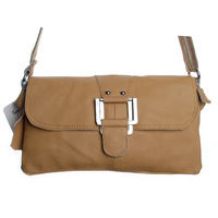 2013 genuine leather shoulder crossbody bag clutch fashion bag women cross-body handbag 27cm x 14cm