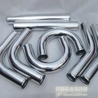 Turbo Intercooler Pipe Kits 57MM(2.25'') Aluminum Pipe,High Quality Universal Aluminum Pipe 8Piece Kits
