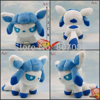 Free shipping! Pokemon Plush  5-6'' [Glaceon plush]-Pokemon Center  Poke Plush Figure Doll