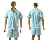 new  13 - 14 France blank T-SHIRT soccer jersey blue  2013-2014  season  national team jerseys cheap  hot sell good