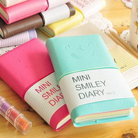 Min Order $15(mixed order) stationery mini smiley bandage holsteins tsmip diary notepad  2254