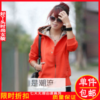 Women outerwear female winter 2012 winter short jacket thickening female spring and autumn sweatshirt outerwear cardigan