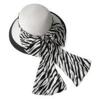 Multicolour stripe ribbon strawhat ihat sun-shading ua sunscreen uv wide-brimmed hat summer women's