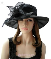 Pearlizing yarn d'Angleterre fedoras banquet organza ihat nobility spring and autumn ball