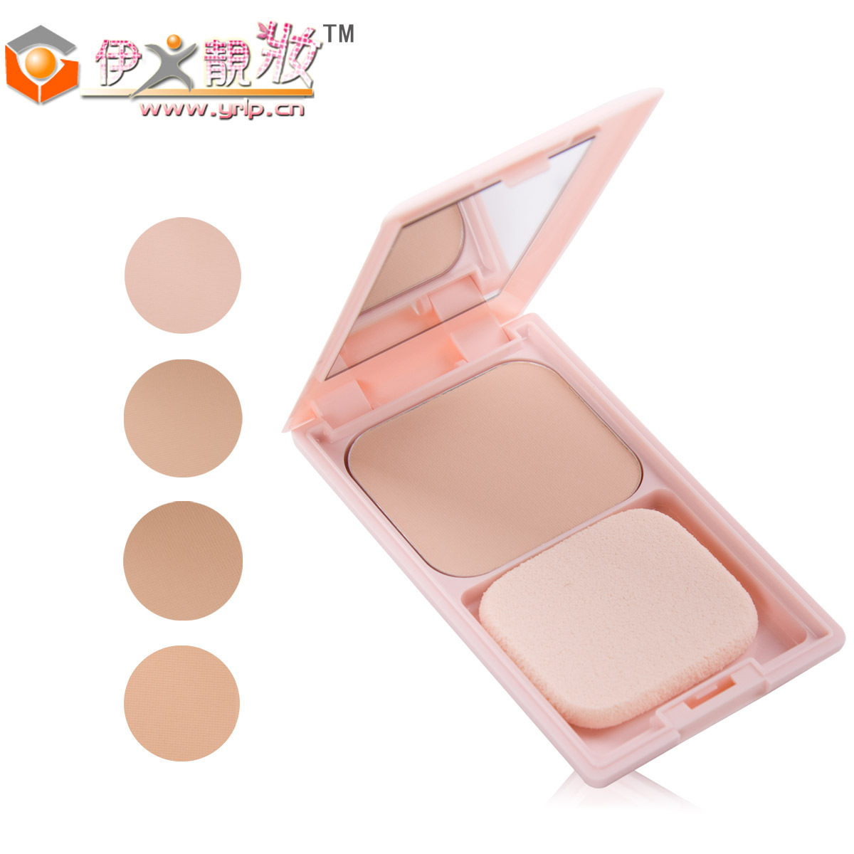 Hot-selling cezanne concealer sunscreen wet and dry powder spf35 dull 11g compact(China (Mainland))