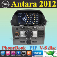 "6.95"" Car DVD player  with GPS navigation autoradio  for Opel Antara 2012 + virtual 8 discs + Free Map"
