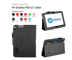 MOQ:1pcs New Stand Leather Case Stand for HP ElitePad 900 G1 tablet Cover Skin(China (Mainland))