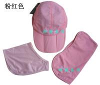 Outdoor UV sun cap Outdoor equipment supplies three-fold cap removable quick-drying cap hat jungle hat fishing hat