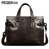 Commercial feger male handbag document laptop bag fashion one shoulder cross-body backpack