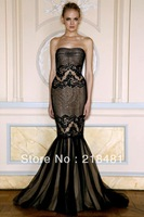 DD-555 2013 Custom Design Popular Sexy Sweetheart  Lace Open back   Evening dresses