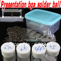 Free shipping 2013 new 459 pcs/set Bga Stencil Bga Reballing Stencil Kit with direct heating reballing station BGA solder ball(China (Mainland))