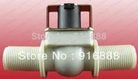 "Free shipping,Normally Open 3/4""BSPP 2Way Nylon Plastic Solar Solenoid Valve Water valve 12V24V220V Water Air Gas"