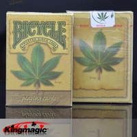 Magic bicycle playing cards plant bicycle hemp deck magic props