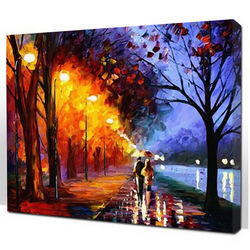 Digital oil painting 40*50 diy lovers married decorative painting(China (Mainland))