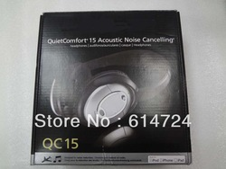 new arrival BOSE QC15 Best quality Noise Cancelling headphone FREE SHIPPING DHL 1pcs/lot(China (Mainland))