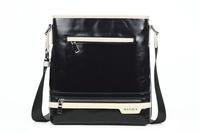 2013 small korean shorts casual backpack mens Genuine Leather body bag Urban shoulder bag man Fashion brand bag M90040-4
