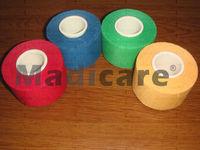 3.8cm*10m Hot Sale Cotton colourful  SportsTape,zigzag edge Coach Tape
