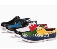 BRAND MEN BOAT SHOES!loafers handmade first layer cow leather casual shoes flats DRESS DRIVING SHOES  FREE SHIPPING MX#39