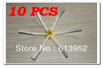 New 10 PCS of side brush (6 arm ) for Roomba 500 700 Series Side Brush 530 550 560 770 780 760 [Free Shipping]