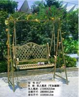 Outdoor furniture swing rocking chair rattan swing garden furniture iron swing