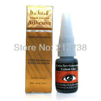 Free Shipping New 15ml false eyelashes smelless glue eye lashes extension Adhesive (1pc)