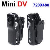Free shipping Black Sports Video Camera MD80 Webcam web Cam Hot Selling Mini DVR Camera & Mini DV