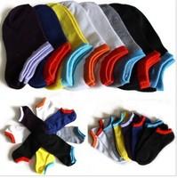 Unisex socks  Couple spring and summer men and women of color candy color cotton short socks womens socks for men socks-color