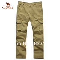 CAMEL 2013 men's clothing sports casual trousers wash water trousers;straight fit and fashion;water washed2s13006
