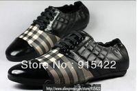 2013 new men's fashion shoes / casual sneakers / Rivet  shoes/ coat of paint/Diamond lattice shoes / Size:38-44