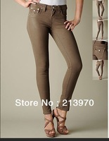 Free Shipping 2013 Summer Designer Women's Skinny Jeans Brand Lady Jeans Slim Denim Jeans Sexy Hot Trousers Pants