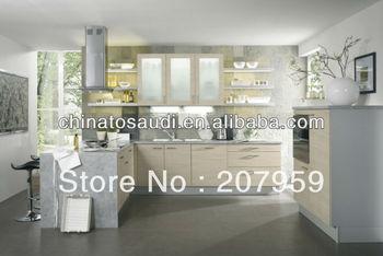 Modern Newest MDF Modular Kitchen Cabinet Manufacturer