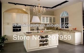 Modern MDF and Melamine Kitchen Cabinet