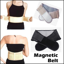 Health Care Magnetic Slimming Lower Back Support Waist Lumbar Brace Belt Strap Backache Pain Relief Free Shipping(China (Mainland))