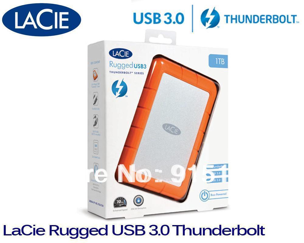 1tb Lacie Rugged Usb 3 0 Thunderbolt