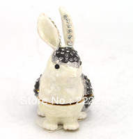 2013 new design metal animal shape jewelry box free shipping (C3196-1)