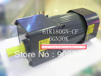 AC003#  180W AC motor with  reducing speed gear 6IK180GN-CF +6GN3K with fan