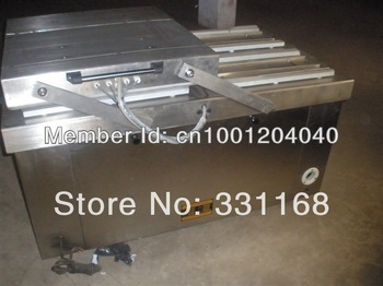 Automatically set cover food double chamber vacuum packaging machines