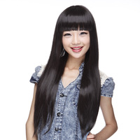 Maiqi female sweet female wig bangs long fluffy fashion 2012 autumn popular