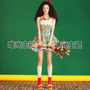 frete grátis Nova chegada 2013 roupa jovem série saia curta w234 dama de honra eo melhor homem(China (Mainland))