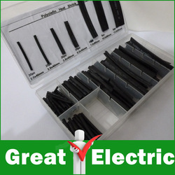 127pc Heat Shrink Tube Assortment/Kit/Set Free Shipping #RS035(China (Mainland))