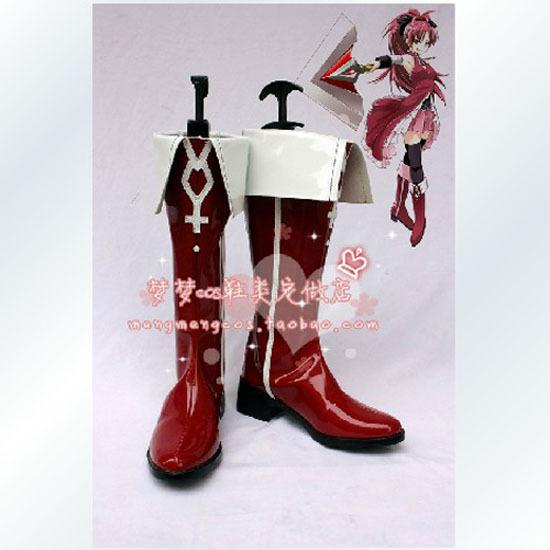Cosplay Time!  - Página 3 Puella-Magi-Madoka-Magica-Kyoko-Sakura-Cosplay-Shoes-Boots
