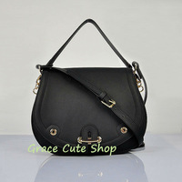 1:1 Top Quality Geunine Leather With Dust Bag High Grade Shoulder Bag Dual-Use Bag Long Strap #H8069-Black